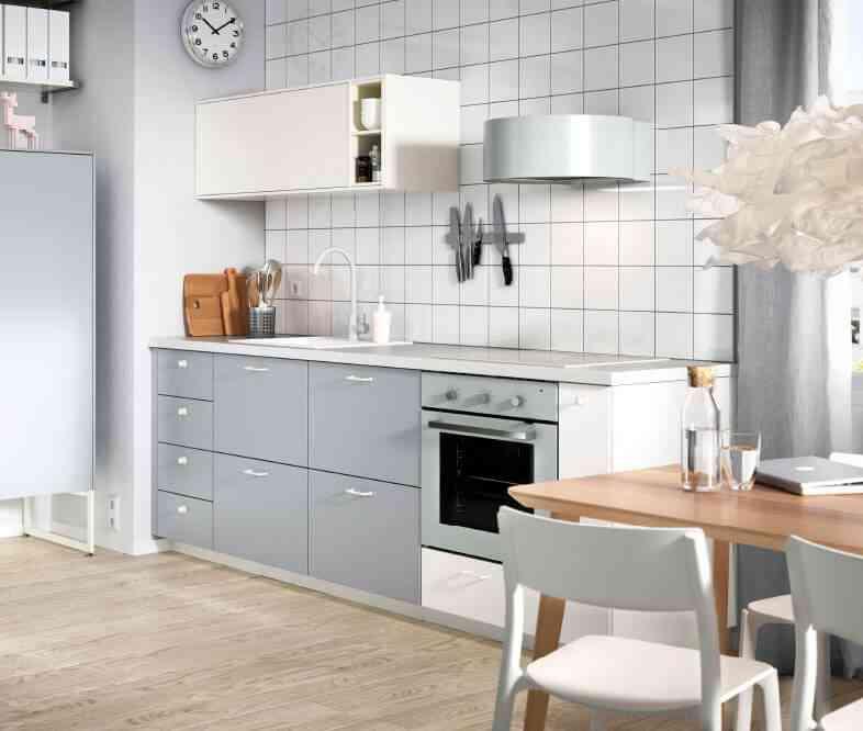C mo aprovechar el espacio en una cocina peque a - Aprovechar cocinas pequenas ...