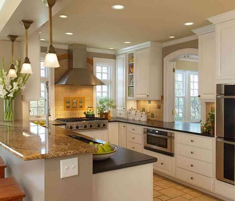 C mo aprovechar el espacio en una cocina peque a for Muebles de cocina americana pequena