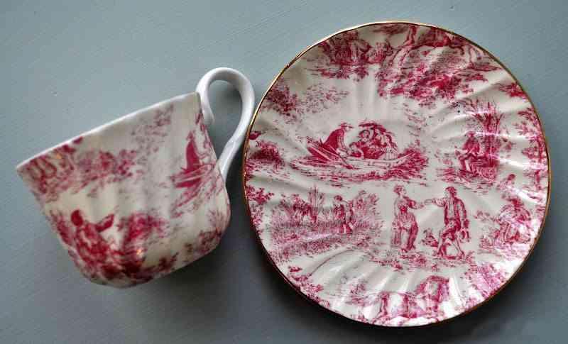 estampado toile de Jouy ceramica