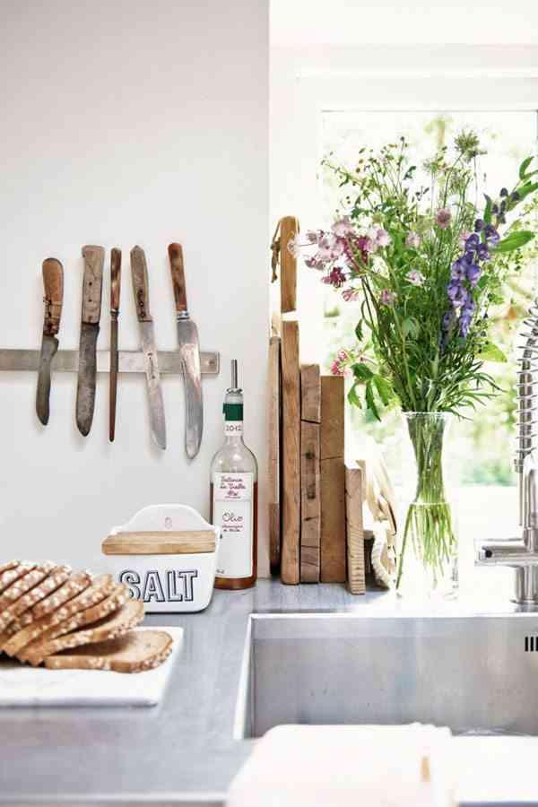 granja rehabilitada detalle cocina