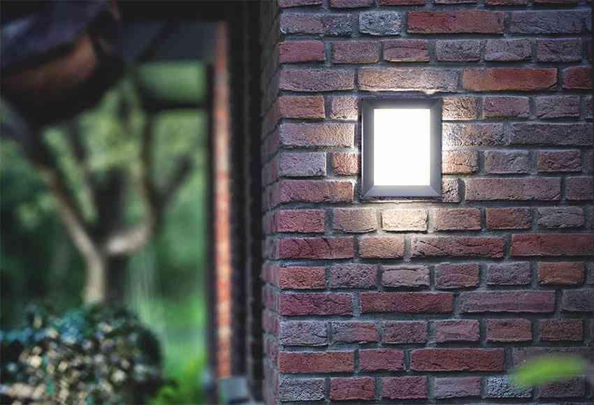 iluminar el jardin aplique lm