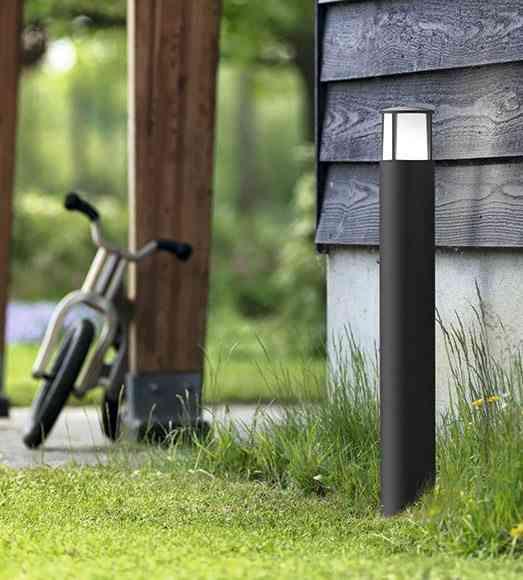 iluminar el jardin baliza bici lm