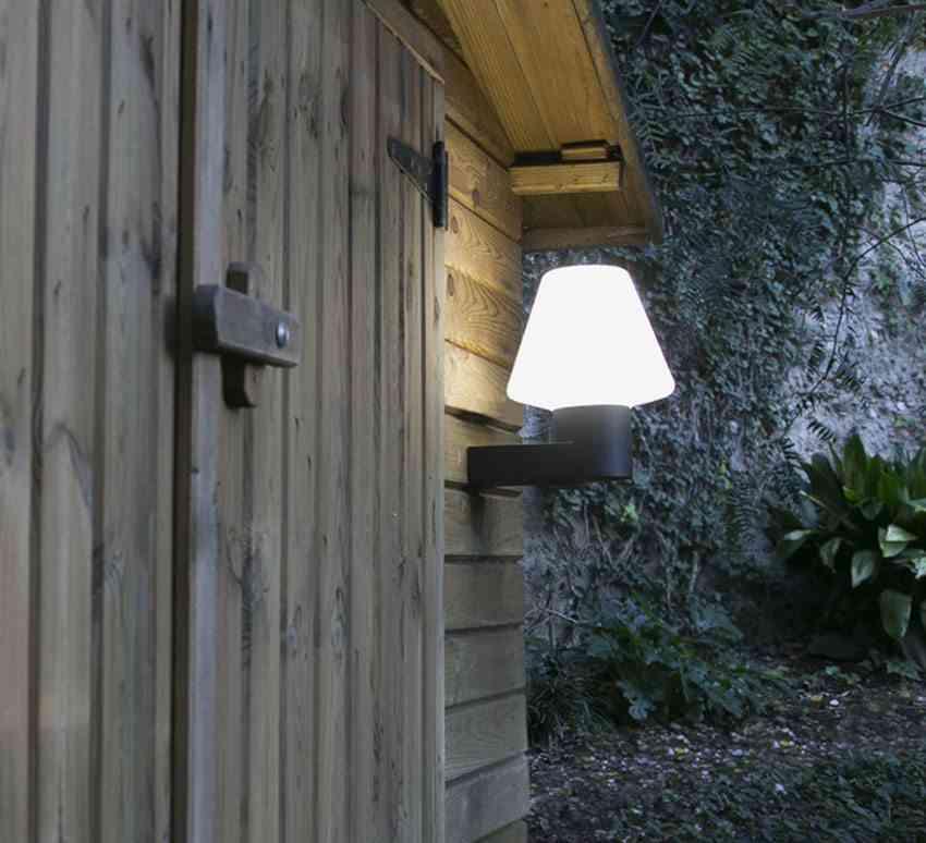 iluminar el jardin Faro