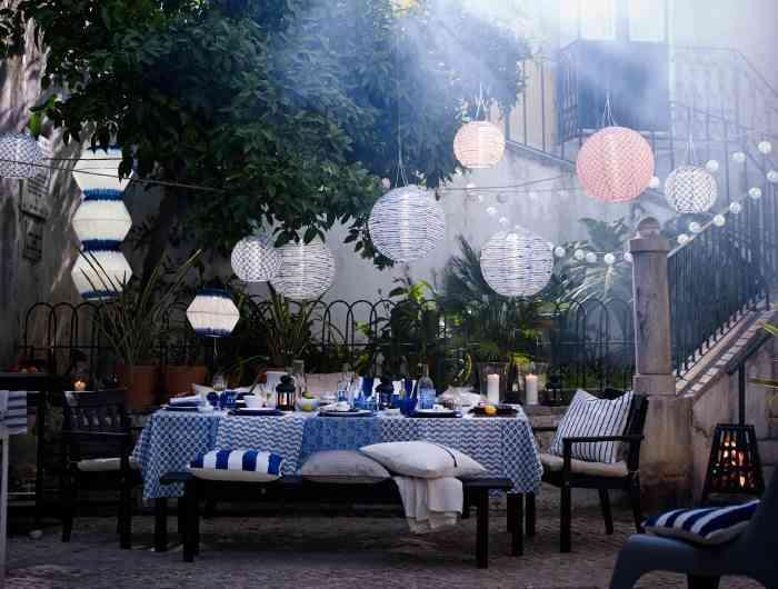 5 ideas econ micas para iluminar el jard n for Iluminacion para jardines