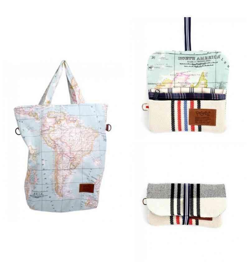 bolsos de tela para el Día de la Madre - mama-viajera-map