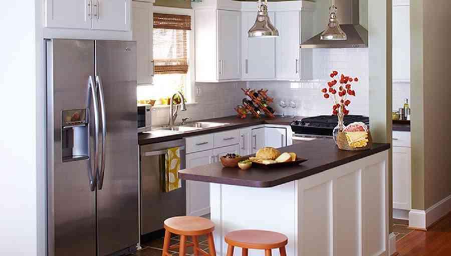 Cómo crear un office en tu cocina pequeña