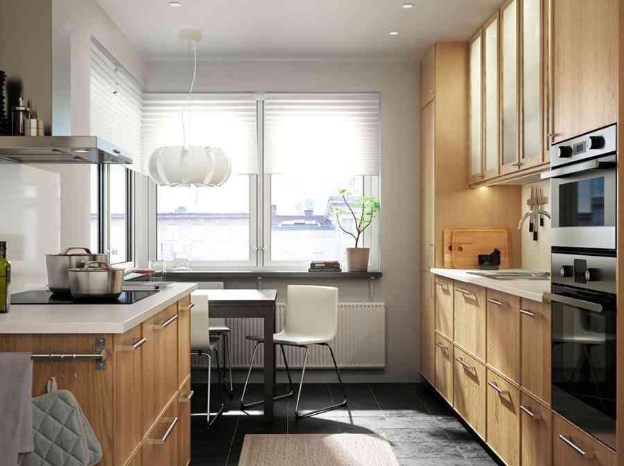 C mo crear un office en tu cocina peque a for Disena tu cocina ikea