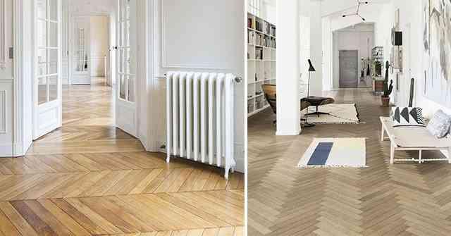 El encanto de los suelos de madera en espiga - Tipos de suelos de madera ...