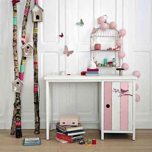 zona de estudio para ninos maison rosa