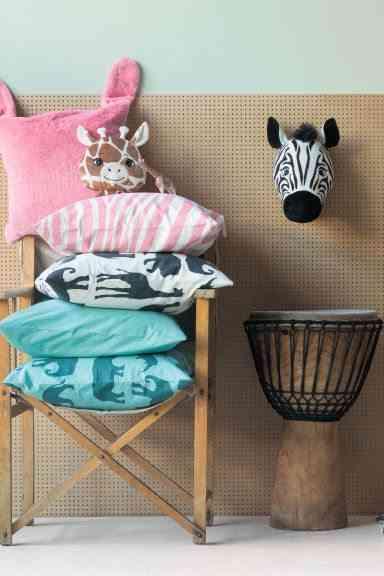 adornos para dormitorios infantiles cabeza hm