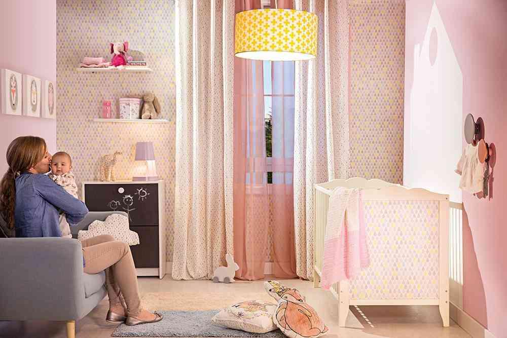 adornos para dormitorios infantiles casita pared lm