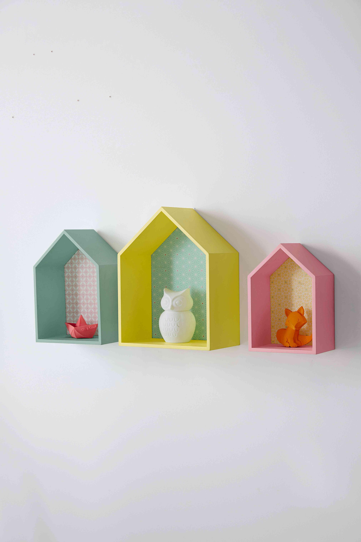 adornos para dormitorios infantiles casitas vert