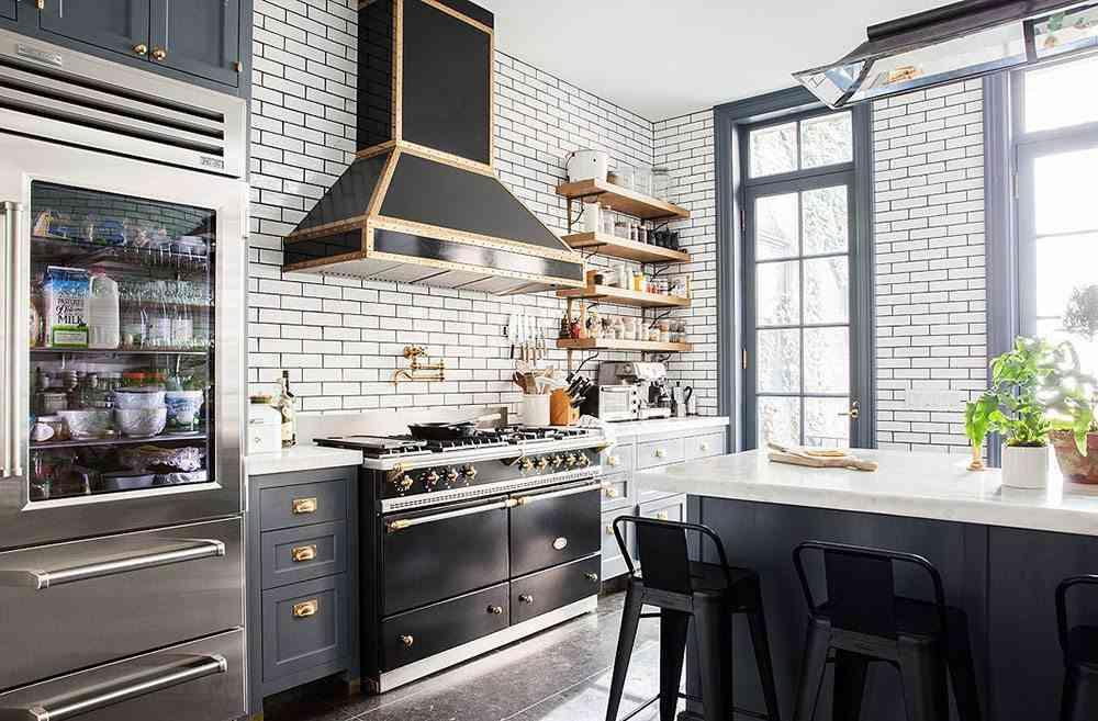 casa sofisticada y familiar cocina