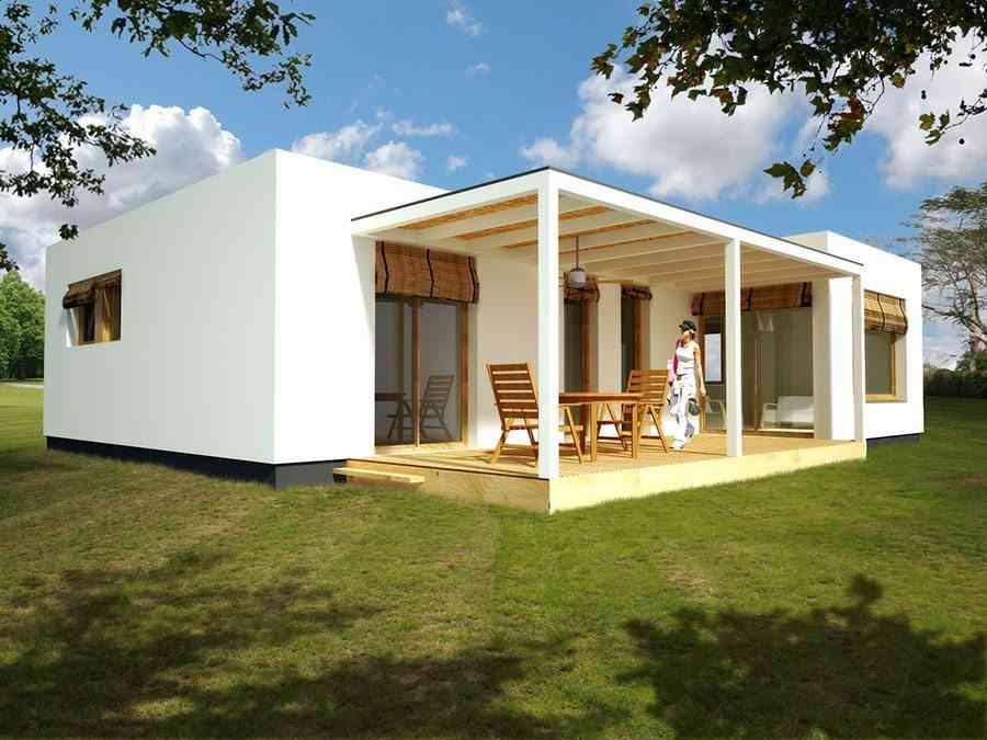 casas ecologicas en espana blochouse