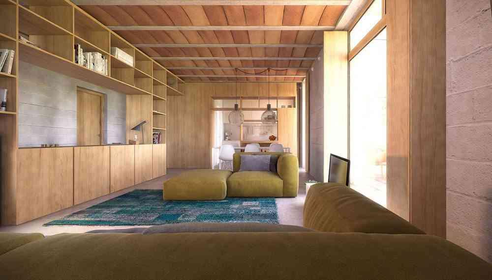 casas ecologicas en espana slow madera
