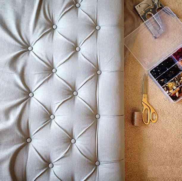 cmo hacer cabeceros de cama tapizados