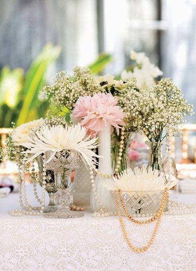 decoracion de bodas vintage flores