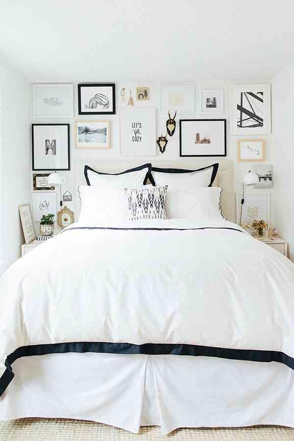 5 trucos prácticos en la decoración de dormitorios pequeños