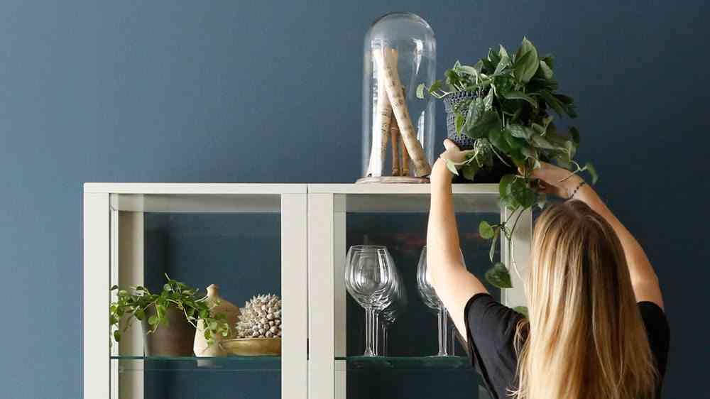 limpiar los cristales sin que queden marcas ikea vitrina