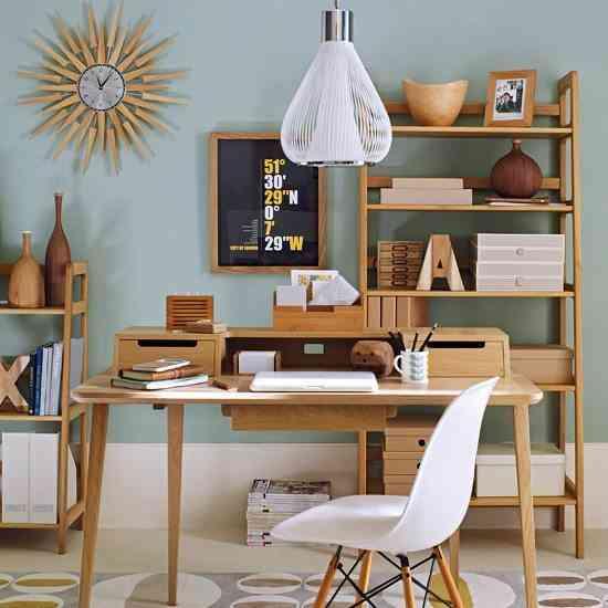 mid-century modern -  escritorio dotbo