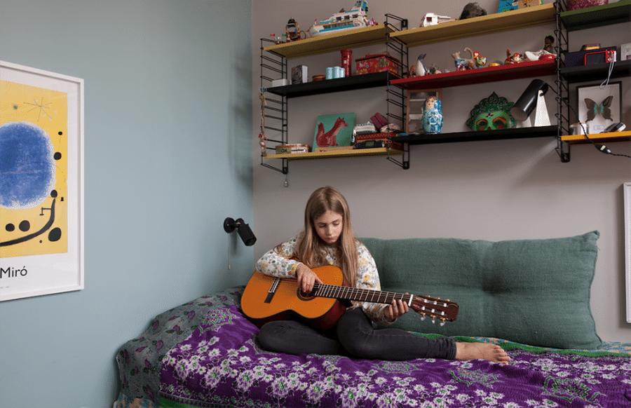no abusar de los colores pintar un dormitorio juvenil milk jovencita