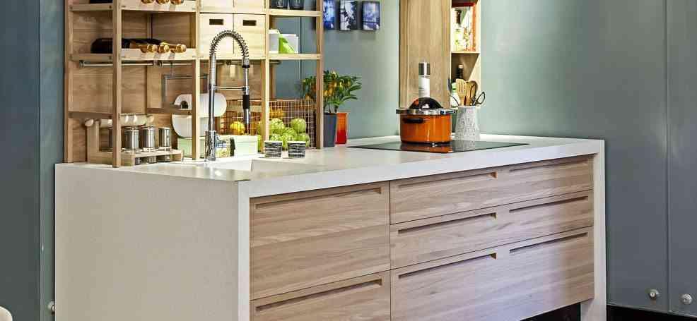 Ventajas y desventajas de una encimera de silestone para cocinas - Cocina encimera madera ...