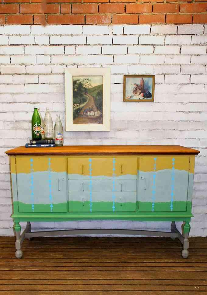 Reciclar muebles con pintura para amueblar la casa - Como reciclar muebles ...