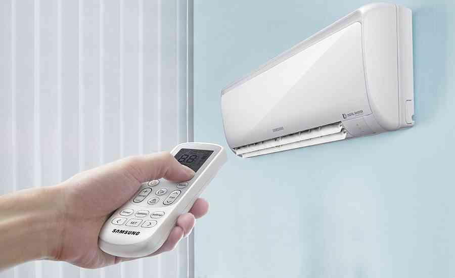aparato de aire acondicionado mando lm