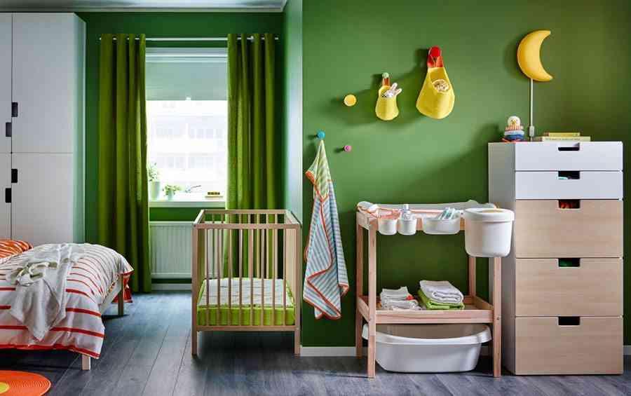 Ideas para la decoraci n de la habitaci n del beb - Habitaciones pequenas ikea ...
