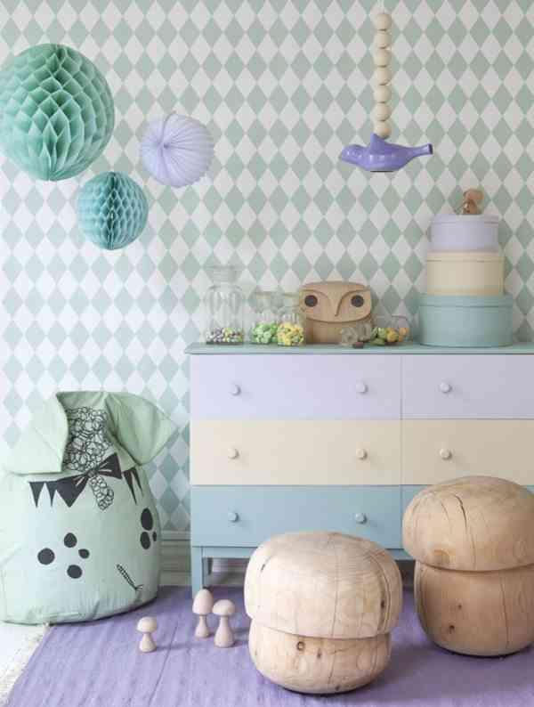 Colores pastel para la decoraci n de una habitaci n infantil for Colores para habitacion infantil