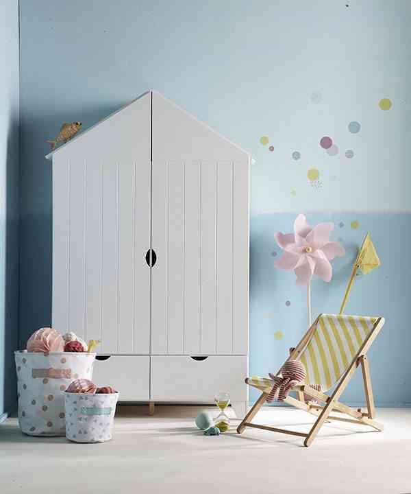 decoracion de una habitacion infantil vertbaudet armario