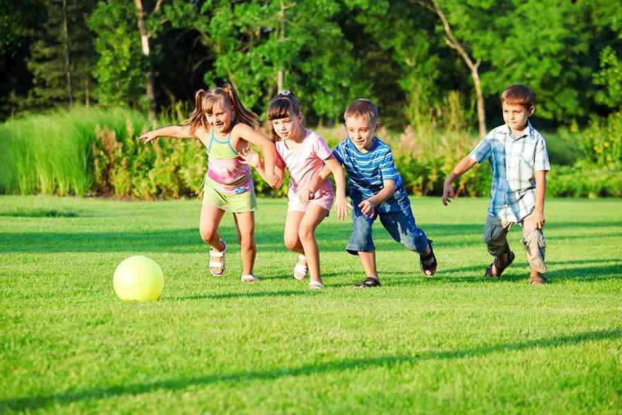 diseno de jardines australian kids