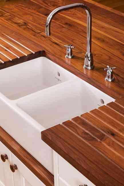 ventajas e inconvenientes de las encimeras de madera