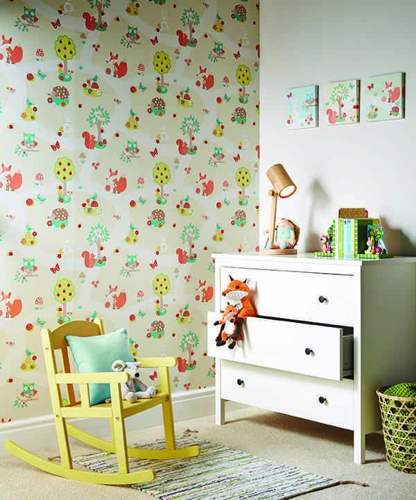 paredes de una habitación de bebé Arthouse