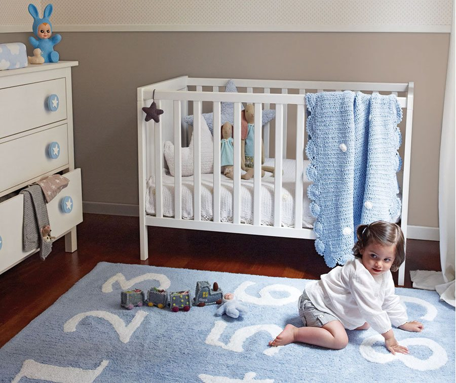 paredes de una habitación de bebé ksl living