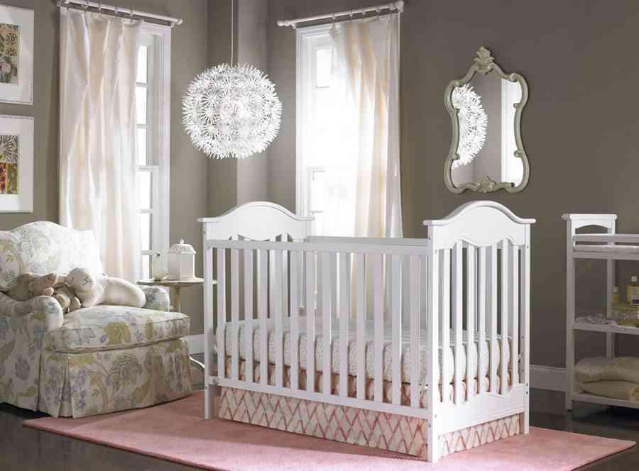 paredes de una habitación de bebé waplag