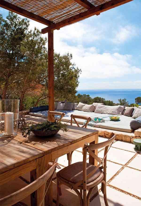ideas para casas en la playa coastal porche