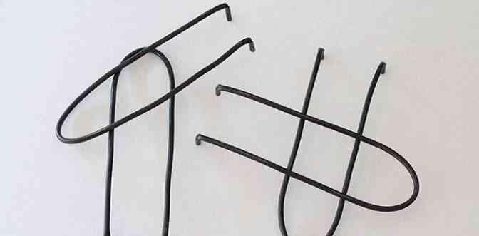 mesa auxiliar de madera y metal pintar negro
