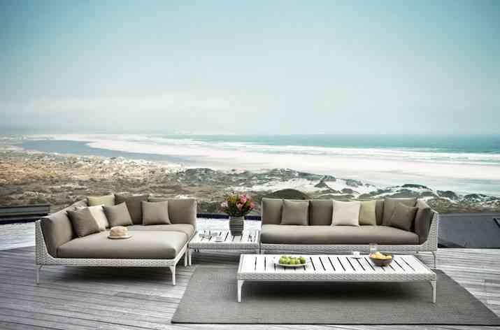 muebles de terraza dedon