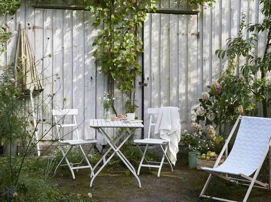 muebles de terraza ikea hierro