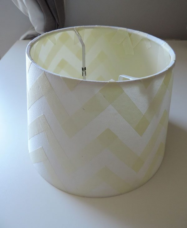 paint a lamp shade 5 step