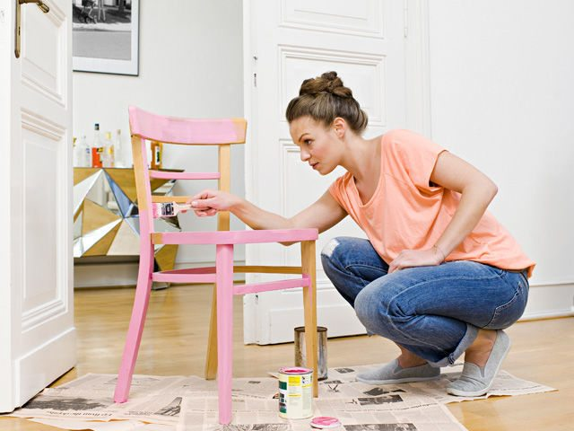 pintura para muebles country living