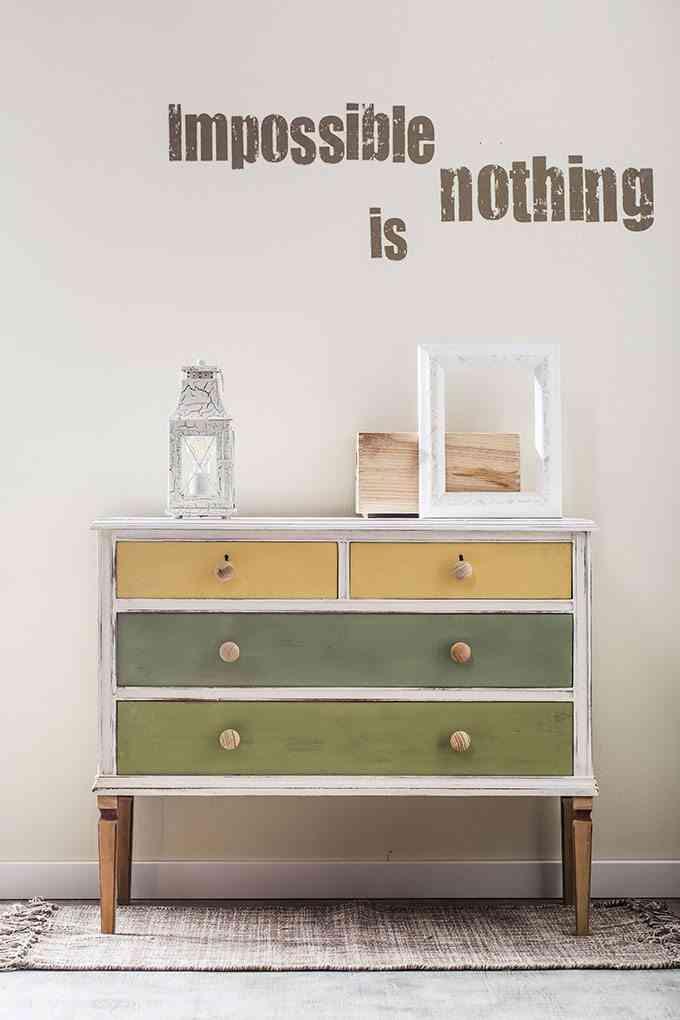 C mo transformar una c moda vieja en un mueble de estilo - Como restaurar una comoda ...
