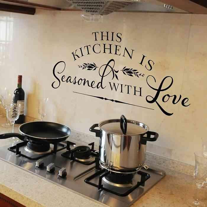 vinilos para cocinas modern kitchen