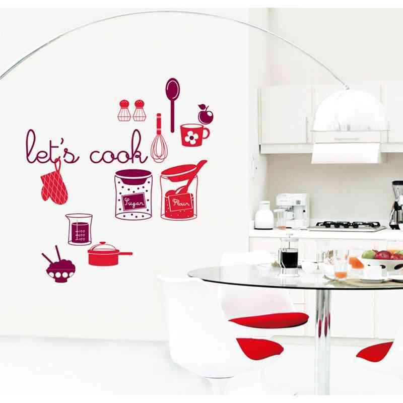 Vinilos para cocinas una idea genial para renovar la - Vinilo muebles cocina ...