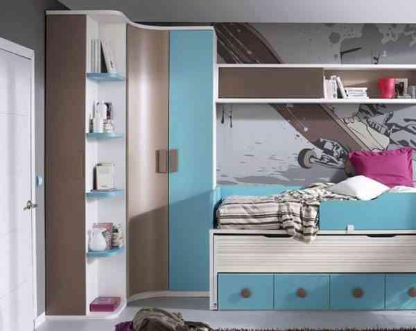 5 armarios de esquina que solucionar n tu problema de espacio - Armarios esquineros dormitorio ...