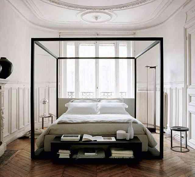 camas con dosel modernas honestly5
