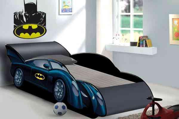 camas infantiles originales batman gemelares