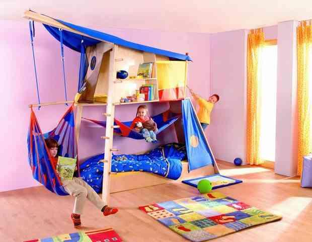 camas infantiles originales circo gemealres