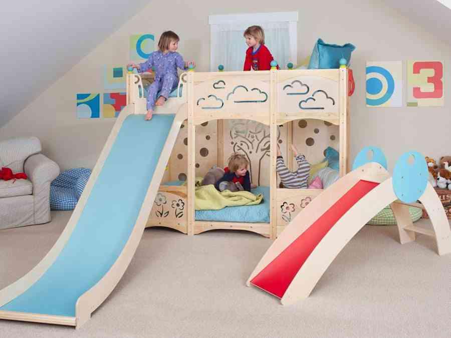 10 camas infantiles originales que encantar n a los peques for Habitaciones de nina baratas
